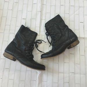 Black Combats Boot